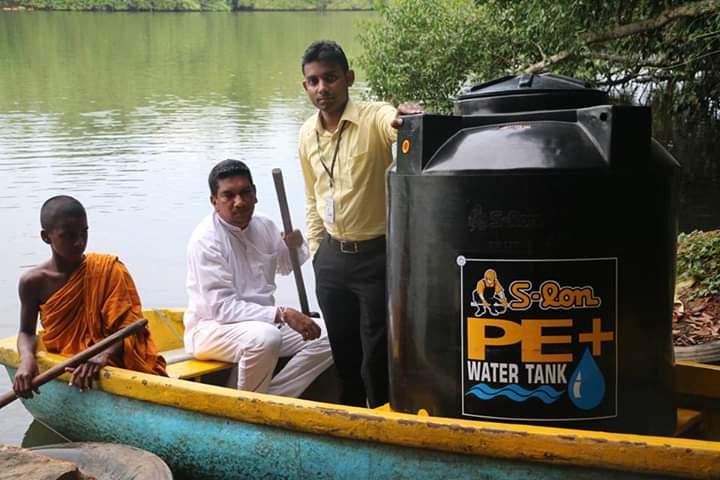 ෆේස්බුක් මිතුරන්ගේ එකතුවෙන් පරප්පුදූව ආරණ්ය සේනාසනයට ලීටර් 500ක ජල ටැංකියක් පූජා කිරීම | Project Water